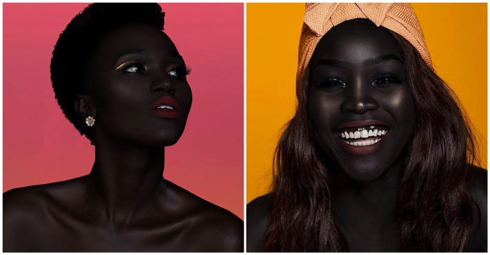 This Model Is Making Waves In The Fashion Industry With Her Amazingly Dark Skin Viraly