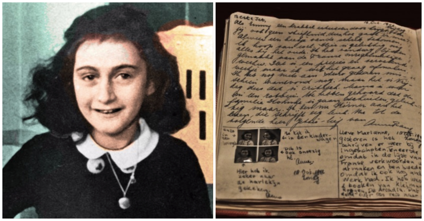 New Pages Uncovered From Anne Frank's Diary Reveal Her